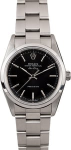 Rolex Air King 14000M Black Index Dial