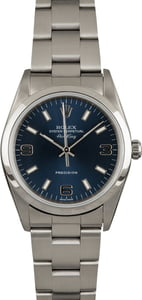 Rolex Air-King 14000M Blue 34MM