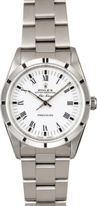 Rolex Air King 14010 White Dial