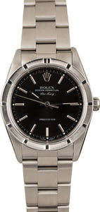 Pre Owned Rolex Air-King 14010 Black Dial