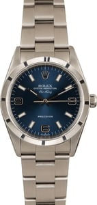 PreOwned Rolex Air-King 14010 Blue Dial