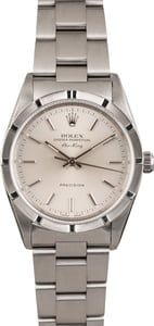 Pre Owned Rolex Air-King 14010 Silver Dial