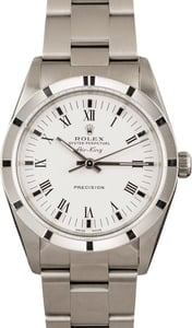 Pre-Owned Rolex Air-King 14010 Roman Dial