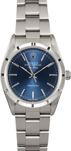 Rolex Air-King 14010 Blue Index