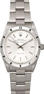 Genuine Rolex Air-King 14010M Silver Dial