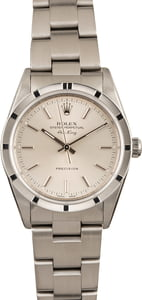 Used Rolex Air-King 14010M Silver Dial