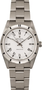 Pre Owned Rolex Air-King 14010M White Roman Dial