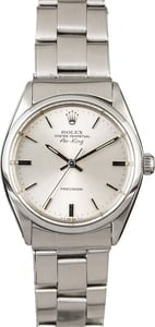 Rolex Air-King 5500 Steel Oyster Rivet