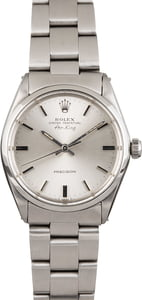 Certified Rolex Steel Air-King 5500