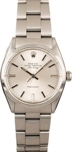 Certified Rolex Stainless Steel Air-King 5500