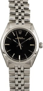 Vintage Rolex Air-King 5500 Black Dial