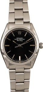 Used Rolex Air-King 5500 Black Index Dial
