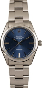 Rolex Air-King 5500 Blue Index Dial