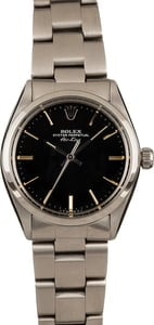 Rolex Air-King Oyster 5500 Black Dial