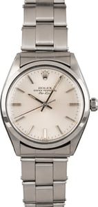 Pre Owned Steel Oyster Rivet Rolex Air-King 5500