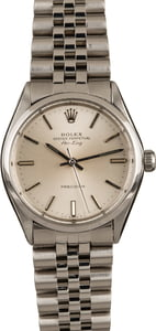 Pre-Owned Rolex 34MM Air-King 5500 Stainless Steel T