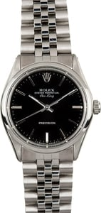 Rolex Air-King 5500 Black Dial