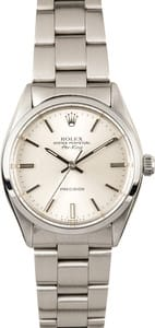 109853 Rolex Air King 5500 Stainless