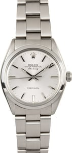 Rolex Air-King 5500 Stainless