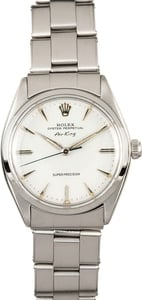 Rolex Air King 5500 Stainless Steel Oyster