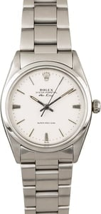 Vintage Rolex Air-King 5504 White Dial