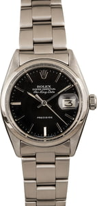 Pre Owned Rolex Air-King Date 5700 Black Dial