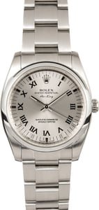 Rolex Air-King Stainless Steel 114200 Silver Dial