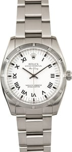 Rolex Air-King 114210 White Dial