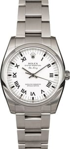 Rolex Air King 114200 White Dial