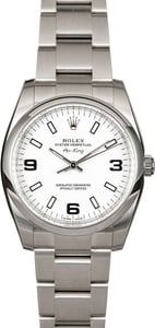 Rolex Air-King Stainless Steel 114200 Model