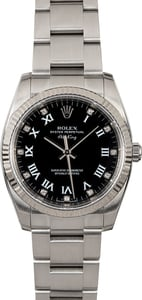 Rolex Air-King 114234 Black Diamond Roman Dial