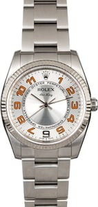Rolex Air-King 114234 Silver Concentric Dial