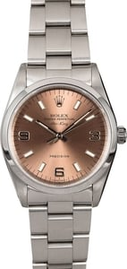 Men's Rolex Air-King 14000 Salmon Dial