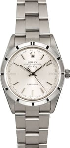 Rolex Air-King 14010 Silver Index