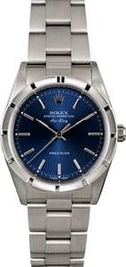 Used Rolex Air-King 14010M Blue Index Dial