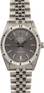 Pre Owned Rolex Air-King 14010 Slate Index Dial
