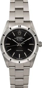 Rolex Air-King 14010M Black Index Dial