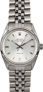 Men's Rolex Air-King 5500 Jubilee Bracelet