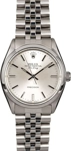 Men's Rolex Air-King 5500 Stainless Steel