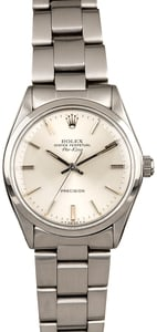 Silver Dial Rolex Air-King 5500 Steel Oyster
