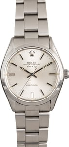 117151 Rolex Air-King 5500 Steel