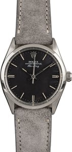Rolex Air-King 5500 Black Index Dial
