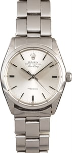 Rolex Air-King 5500 Steel Rivet Oyster