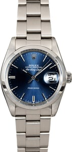 Rolex Air-King Date 5700 Blue Dial