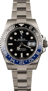 Pre Owned Rolex Batman 116710B Ceramic Bezel