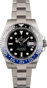 Pre Owned Rolex Batman GMT-Master II Ref 116710