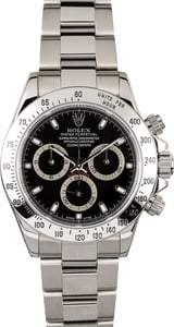 Rolex Black Daytona 116520 Certified Pre-Owned