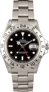 Rolex 16570 Black Explorer II