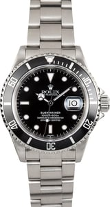 Rolex Black Oyster Perpetual 16610 Submariner