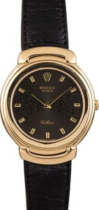 Pre Owned Rolex Cellini 6623 Yellow Gold